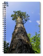 Climb To The Sky Spiral Notebook