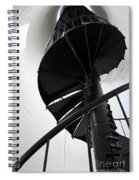 Climb Up To The Sky Spiral Notebook