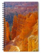 climbing out of the Canyon Spiral Notebook
