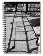 Climbing The Walls Spiral Notebook
