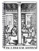 Clinic Scene, 1550 Spiral Notebook