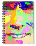 Clint Eastwood Abstract 01 Spiral Notebook