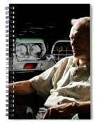 Clint Eastwood As Walt Kowalski In The Film Grand Torino - Clint Eastwood - 2008 Spiral Notebook