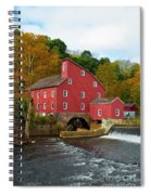 Clinton Mill II  Spiral Notebook