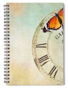 Clock Five To Twelve Spiral Notebook