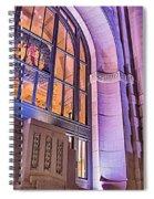 Clock Spiral Notebook