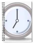 Clock Seven Spiral Notebook