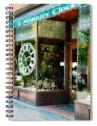 Clock Shop Spiral Notebook