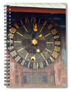 Clock Tower In Solothurn Spiral Notebook