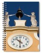 Clock Tower In Bardolino Spiral Notebook
