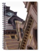 Clock Tower In New Haven Connecticut Spiral Notebook