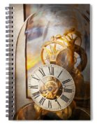 Clockmaker - A Look Back In Time Spiral Notebook
