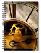 Clockmaker - What Time Is It Spiral Notebook