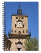 Clocktower - Aix En Provence Spiral Notebook
