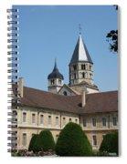 Cloister Cluny Garden View Spiral Notebook