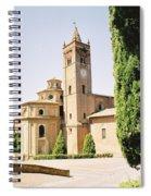 Cloister Monte Oliveto Maggiore Spiral Notebook