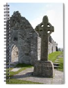 Clonmacnoise Cathedral  And High Cross Ireland Spiral Notebook