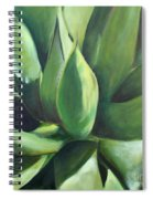 Close Cactus II - Agave Spiral Notebook