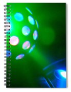 Close Contact With A Green Ufo Spiral Notebook