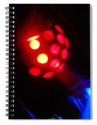 Close Contact With A Red Unidentified Flying Object Spiral Notebook
