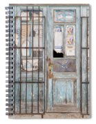 Closed Down Shop Spiral Notebook