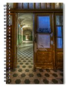 Close The Door Spiral Notebook