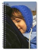 Close To My Daddy Spiral Notebook