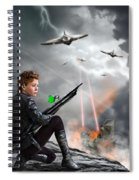Close To The Edge - Yes Spiral Notebook