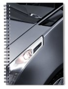 Close Up Of Cadillac Ulc Urban Luxury Car Spiral Notebook