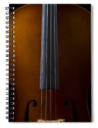 Close Up Of Cello Spiral Notebook