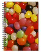 Close Up Of Jelly Beans Spiral Notebook