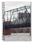 Close Up Of The Walnut Street Bridge Spiral Notebook