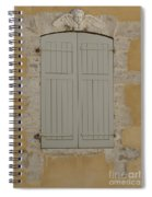 Closed Shutters Spiral Notebook