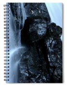 Closeup Waterfall Spiral Notebook