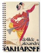 Clotilde And Alexandre Sakharoff Spiral Notebook