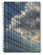 Cloud Captured Spiral Notebook