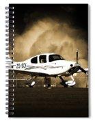 Cloud Cirrus Spiral Notebook