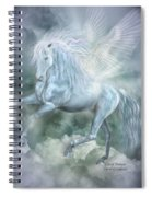 Cloud Dancer Spiral Notebook