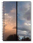 Cloud Diptych Spiral Notebook