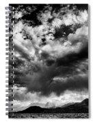 Cloud Explosion Spiral Notebook