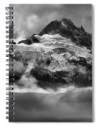 Cloud Layers Over Tantalus Spiral Notebook