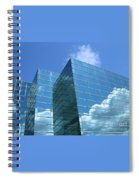 Cloud Mirror Spiral Notebook
