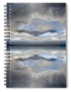 Cloud Mirror Spiral Notebook