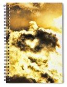 Cloud Of Love Spiral Notebook