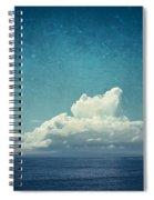 Cloud Over Island Spiral Notebook