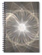 Cloud Petals Spiral Notebook
