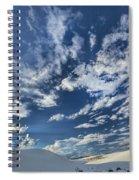 Cloud Puffs Spiral Notebook