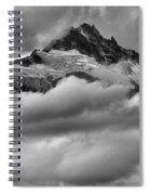 Cloud Rush Over Tantalus Spiral Notebook