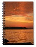 Cloud Shadows Spiral Notebook