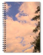 Cloud Slide Spiral Notebook